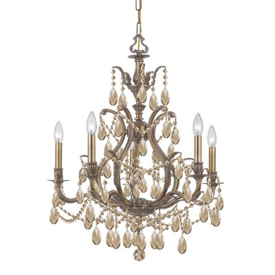 Dawson 5-Light Candle-Style Chandelier