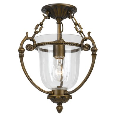 Camden 1-Light Semi Flush Mount IV