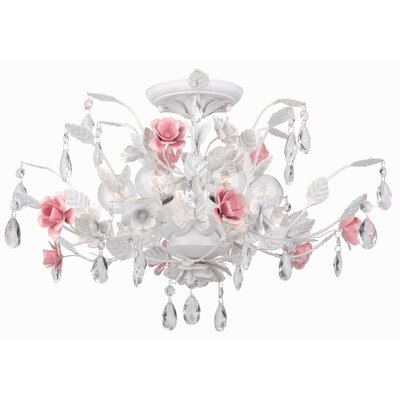 Lola 6-Light Semi Flush Mount