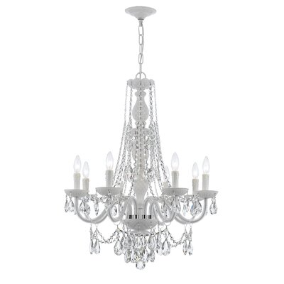 Envogue 8-Light Crystal Chandelier Crystal Grade: Spectra
