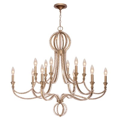 Beaufort 12-Light Candle-Style Chandelier
