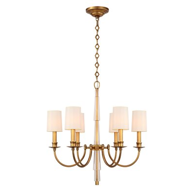 Lawson 6-Light Shaded Chandelier