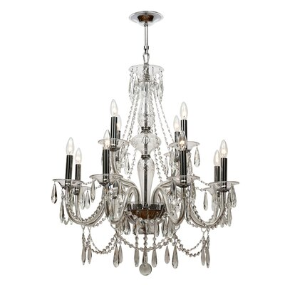 Barrymore 12-Light Crystal Chandelier
