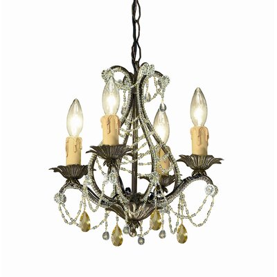 Abigail 4 Light Mini Chandelier