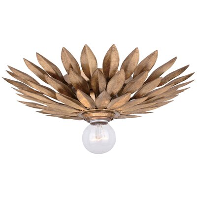 Broche 1-Light Flush Mount