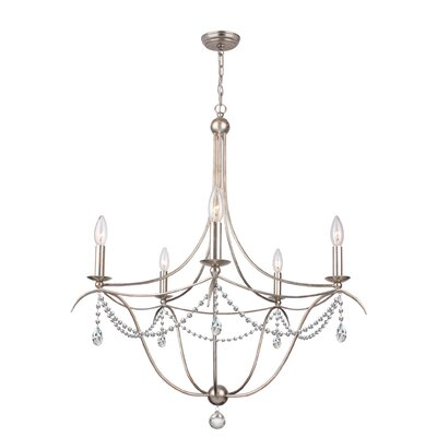 Metro 5-Light Candle-Style Chandelier