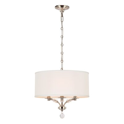 Mirage 3-Light Drum Chandelier