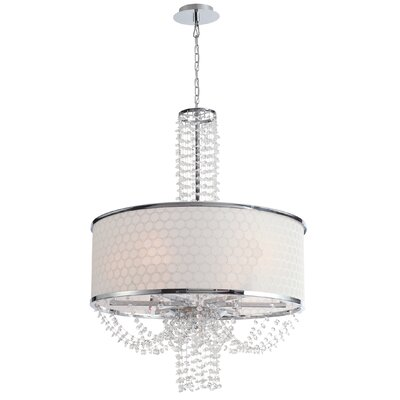 Beauford 6-Light Drum Chandelier