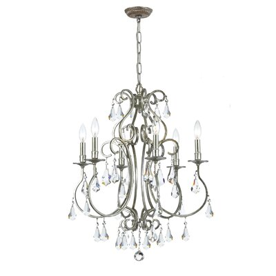 Shaughnessy 6-Light Crystal Chandelier