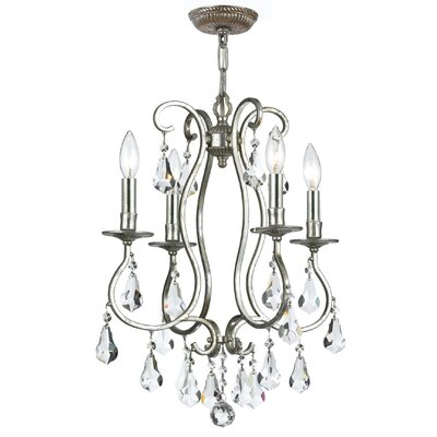 Shaughnessy 4-Light Candle-Style Chandelier