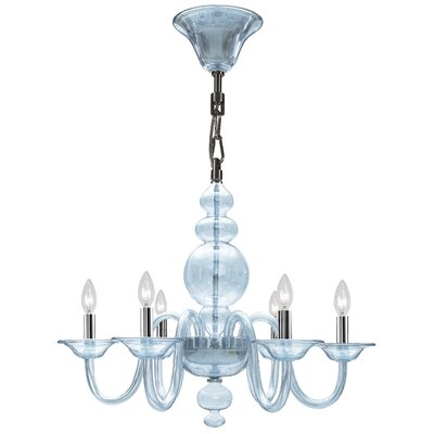 Harper 6-Light Candle-Style Chandelier