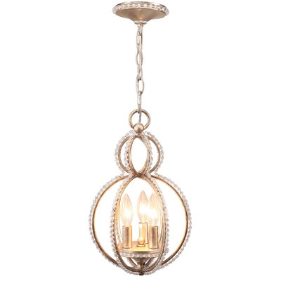 Beaufort 3-Light Globe Pendant