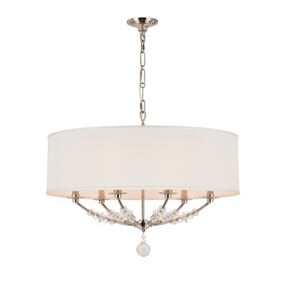 Mirage 6-Light Drum Chandelier