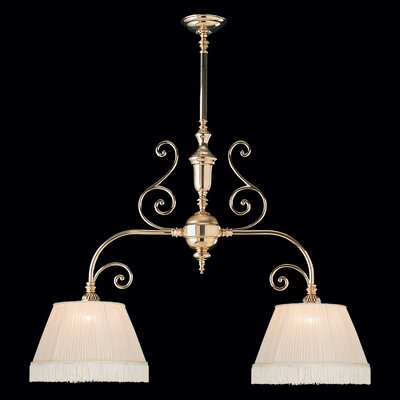 Hot Deal 2-Light Flush Mount Finish: Polished Brass