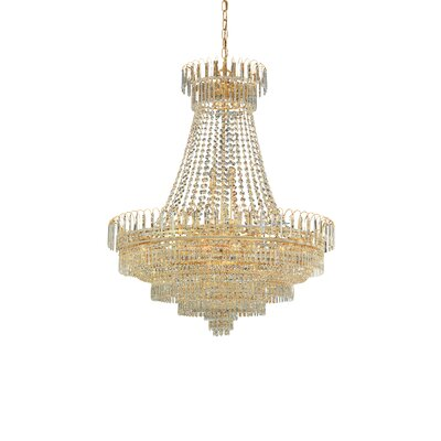 Empire II 24-Light Crystal Chandelier
