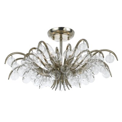 Metro 5-Light Semi Flush Mount