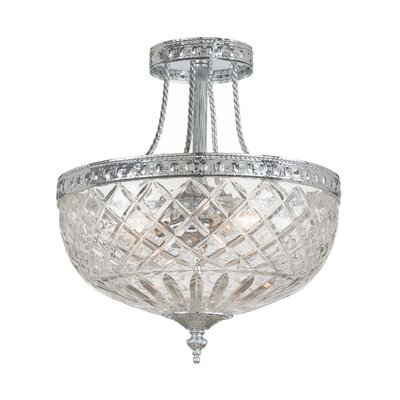 Cortland 2-Light Semi Flush Mount