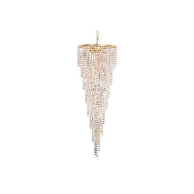 Shower 15-Light Crystal Chandelier