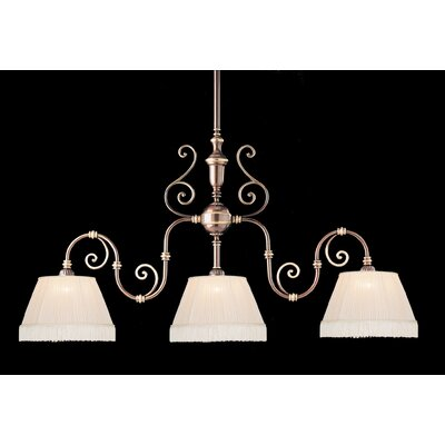 Birmingham 3-Light Kitchen Island Pendant Finish: Roman Bronze