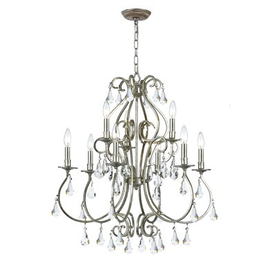 Shaughnessy 9-Light Crystal Chandelier