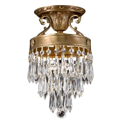 Regal 1-Light Semi Flush Mount