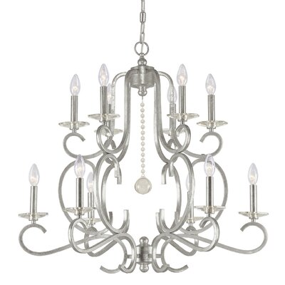 Orleans 12-Light Candle-Style Chandelier