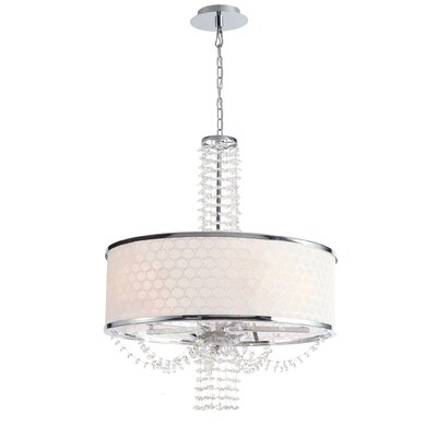 Beauford 5-Light Drum Chandelier