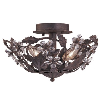Abbie 3-Light Semi Flush Mount