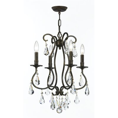 Shaughnessy Traditional 4-Light Candle-Style Chandelier