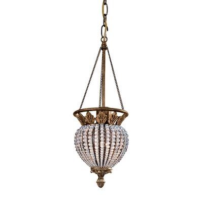 Roosevelt 3-Light Foyer Pendant Size: 6.5 W