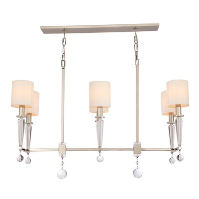 Paxton 6-Light Kitchen Island Pendant