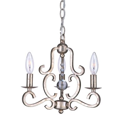 Orleans 3-Light Candle-Style Chandelier