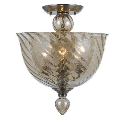 Harper 3-Light Semi Flush Mount
