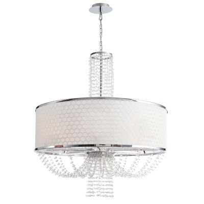 Beauford 8-Light Drum Chandelier
