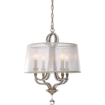 Beaufort 4-Light Shaded Chandelier