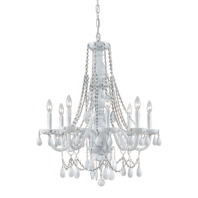 Envogue 8-Light Candle-Style Chandelier