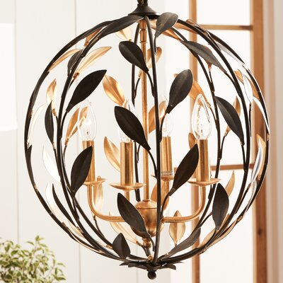 Crystorama 4-Light Ceiling Pendant