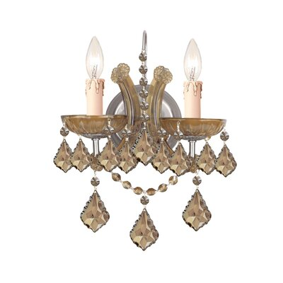 Brass Candelabra Wall Sconce | Wayfair
