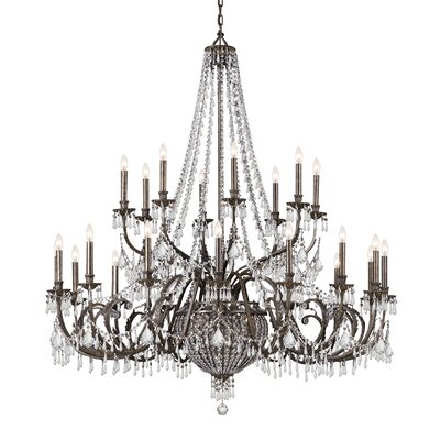 Vanderbilt 29-Light Crystal Chandelier