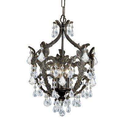 Markenfield  5-Light Crystal Chandelier