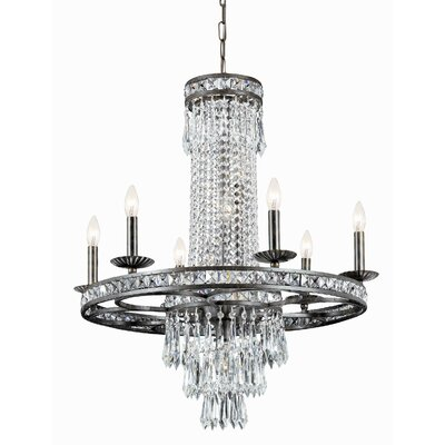 Markenfield 10-Light Crystal Chandelier