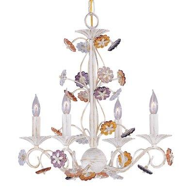 Paris Flea Market 4-Light Candle-Style Chandelier