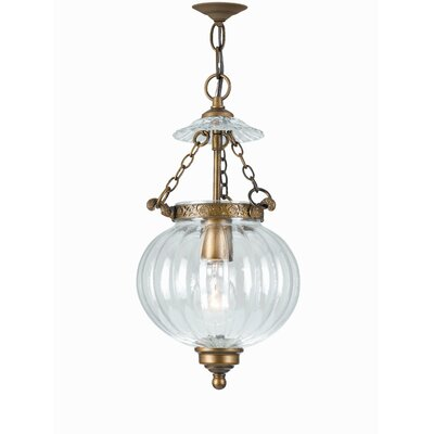 Melon Jars 1-Light Foyer Pendant 5781-AB