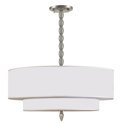Luxo 5-Light Drum Pendant
