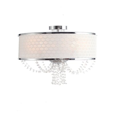 Beauford 5-Light Semi Flush Mount