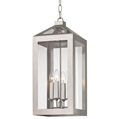 Artus 4-Light Candle-Style Chandelier Size: 23 H x 10 W x 10 D