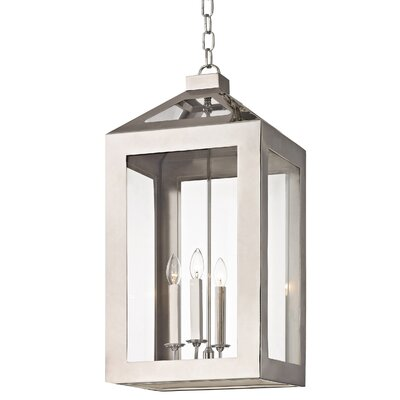 Artus 4-Light Candle-Style Chandelier Size: 30.5 H x 14 W x 14 D