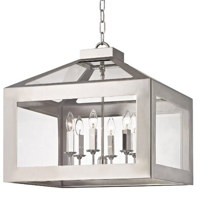 Artus 6-Light Candle-Style Chandelier