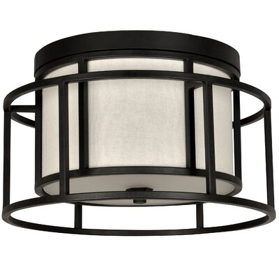 Hanke 2-Light Flush Mount