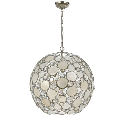 Palla 6-Light Crystal Chandelier